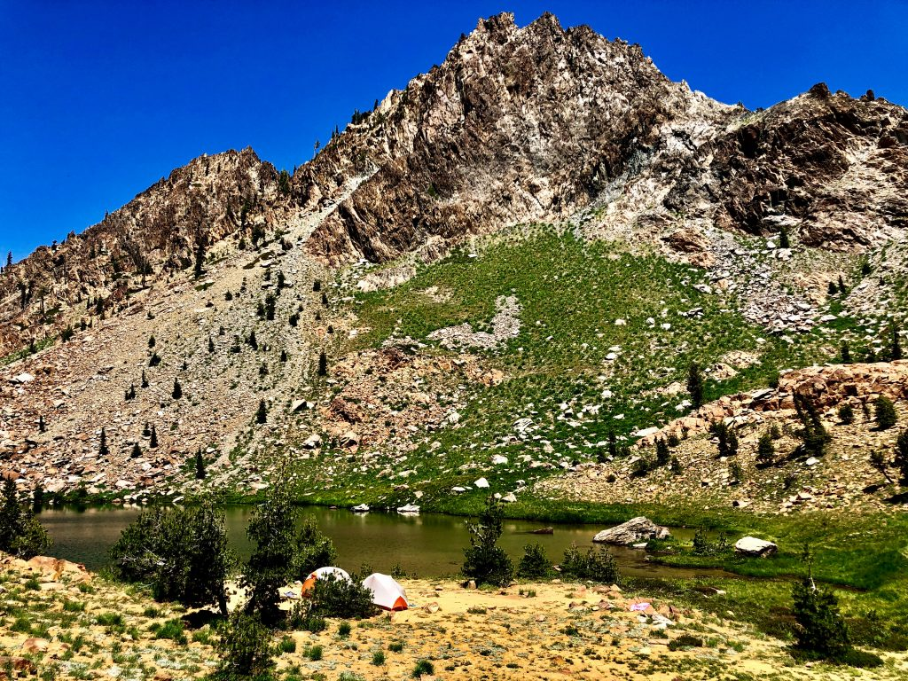 Backpacking the Four Lakes Loop, Trinity Alps