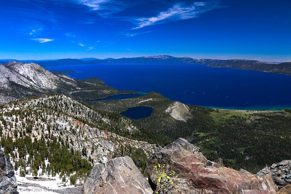 Hiking Mount Tallac, Lake Tahoe, California