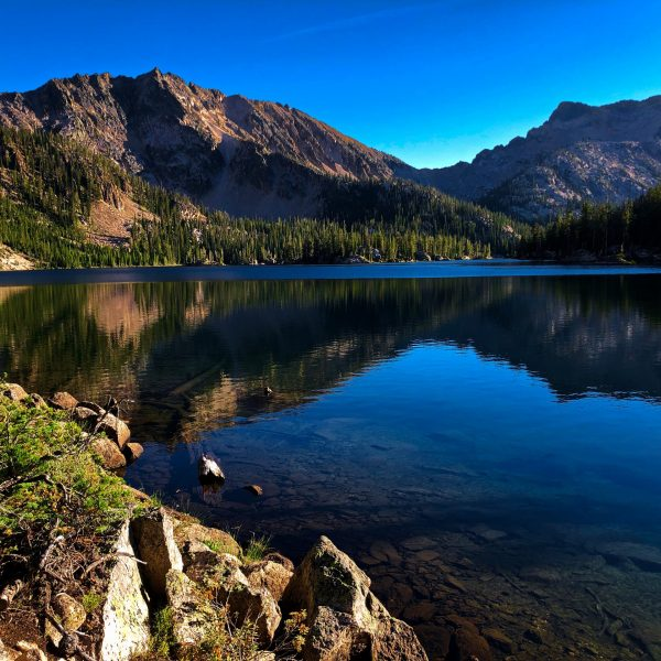 Backpacking to Imogene Lake