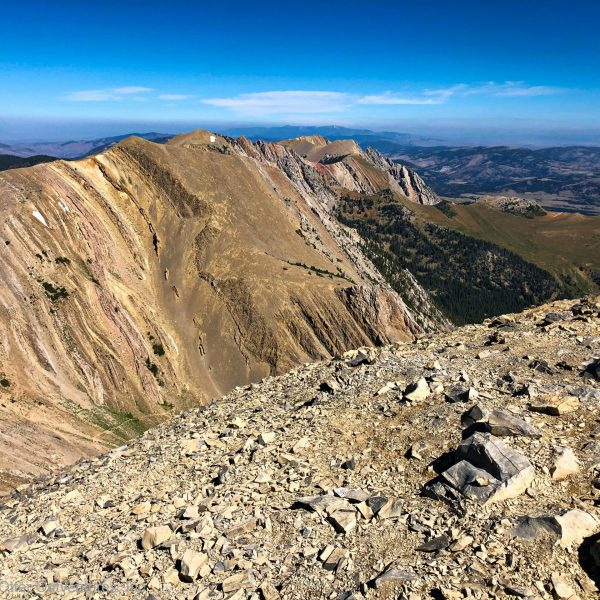 Hiking the Sacagawea Peak Trail, Bozeman, Montana