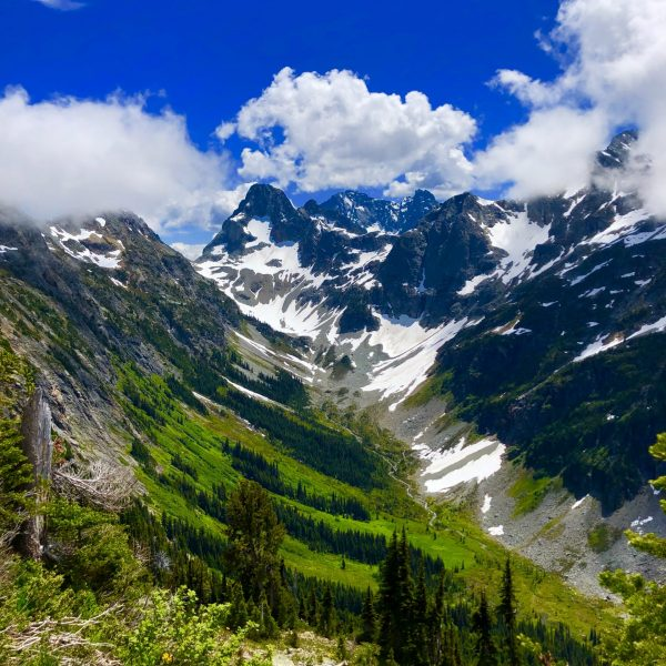 Hiking the Easy Pass Trail