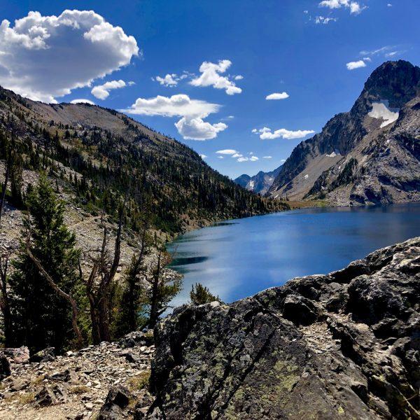Hiking to Sawtooth Lake